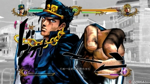The game style borrows heavily from the manga.