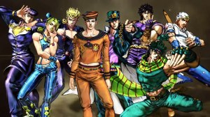 All the 8 Jojos are here.