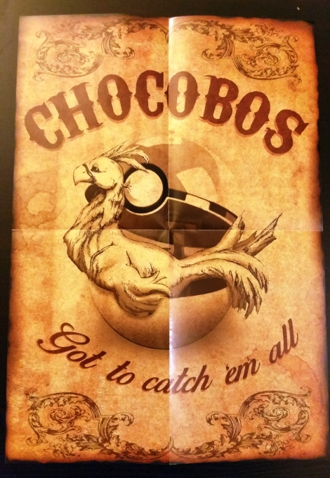 Wootbox_Chocobo Poster