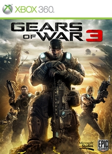 Gears of War 3 (Xbox 360)_Box Art