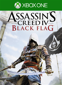 Assassin's Creed IV: Black Flag (Xbox One)_Box Art