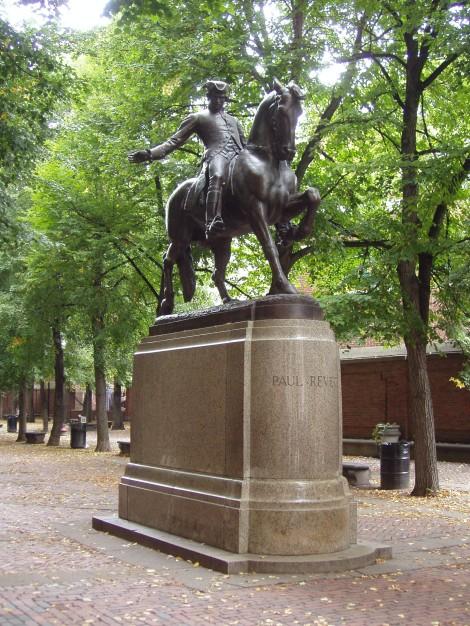 Paul_Revere_Statue