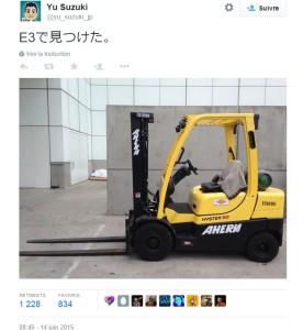 Shenmue 3_Yu Suzuki_Twitter Teaser