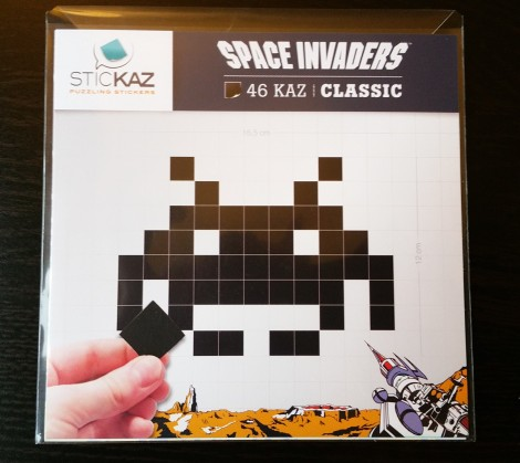 Wootbox_3_Space Invaders Sticker