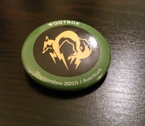Wootbox_4_Metal Gear_Fox Pin Badge