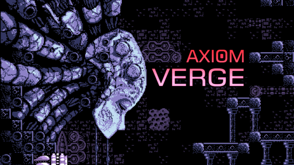 Axiom Verge Title Screen